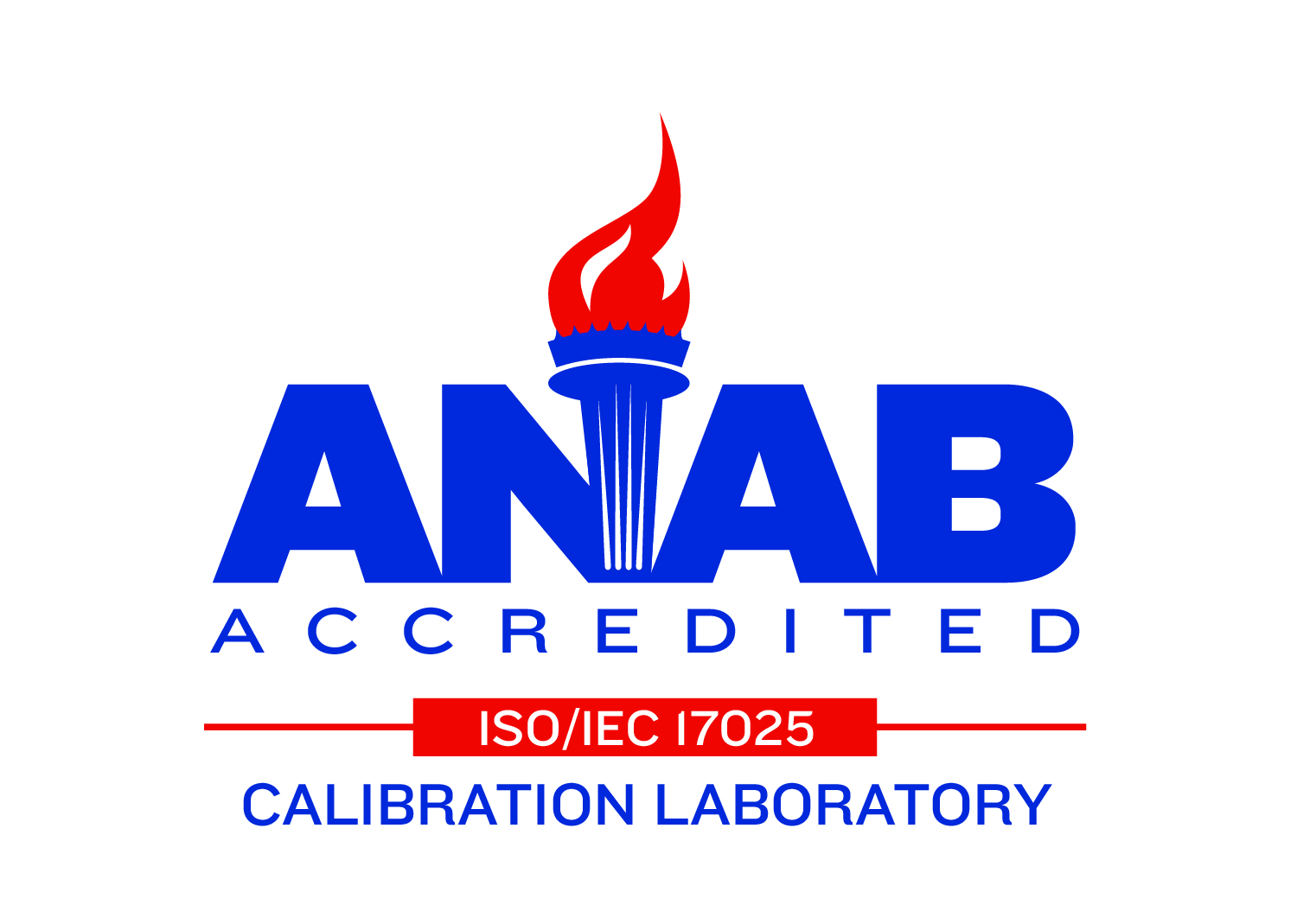 ANSI-ASQ National Accreditation Board (ANAB) Certified.